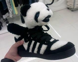 Cute Panda Shoe by 3leanorMarshall