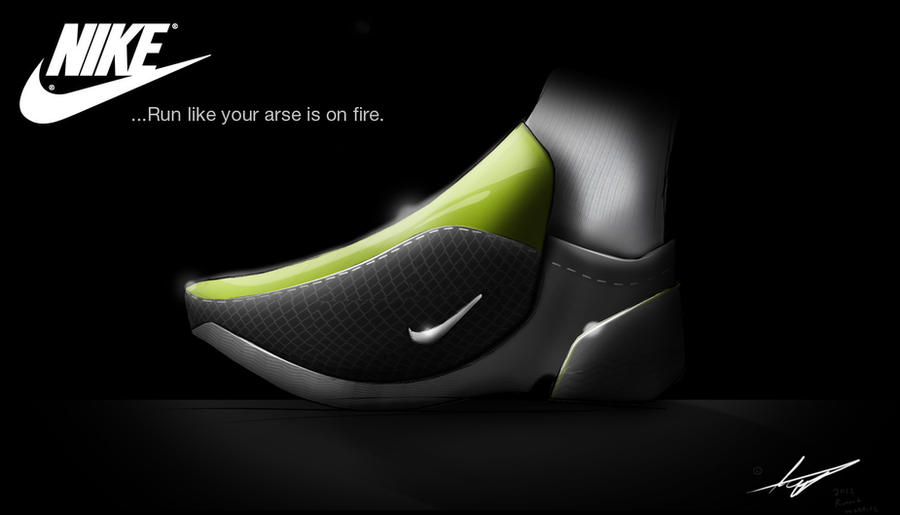 Nike Golf Shoes With Grafite Side