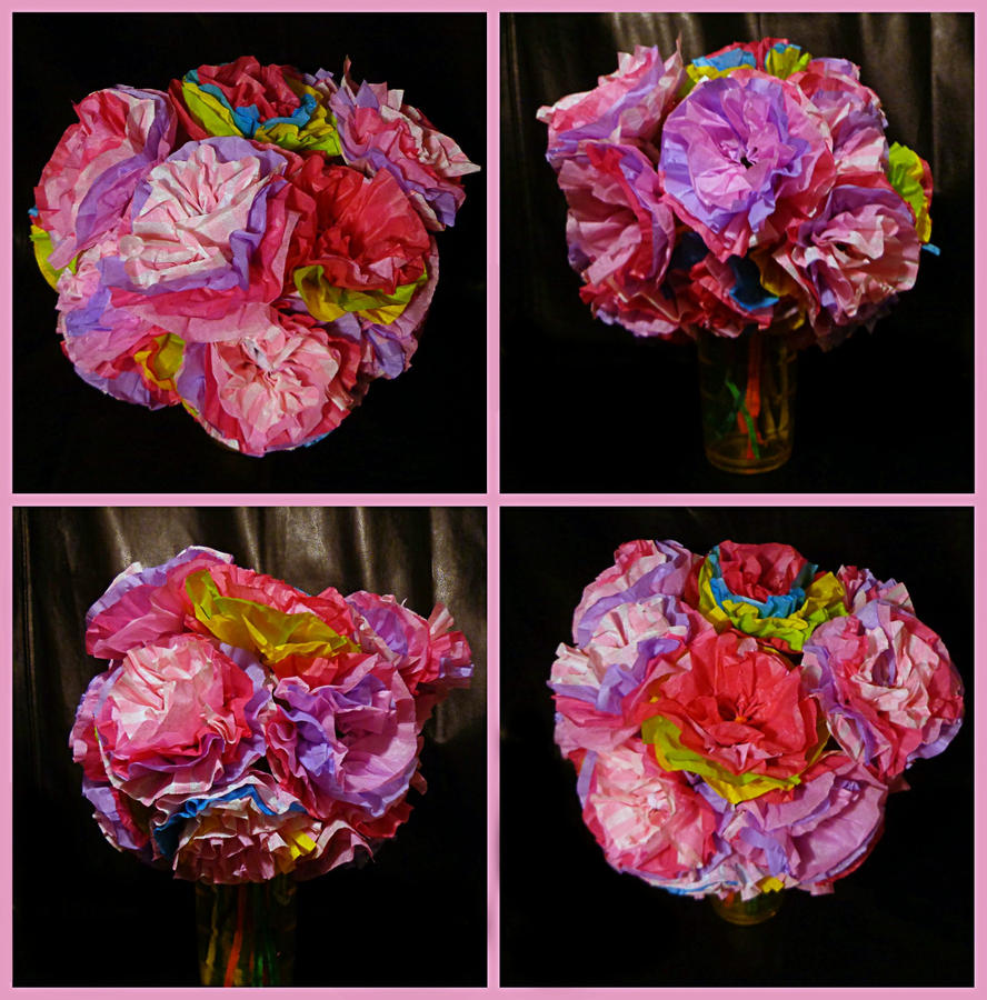 Tissue paper flower bouquet by otakualice45 on deviantart tissue paper flower bouquet by otakualice45 izmirmasajfo