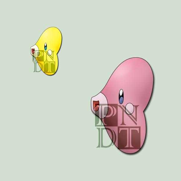 Pokemon LUVDISC by psychonyxdorotheos on DeviantArt