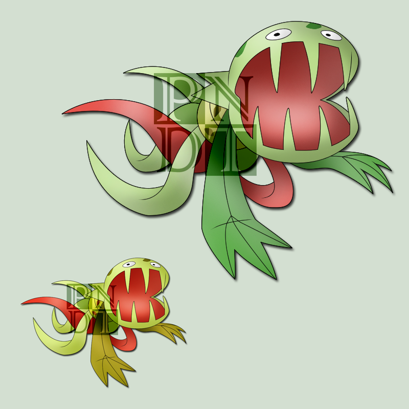Pokemon CARNIVINE by psychonyxdorotheos on DeviantArt