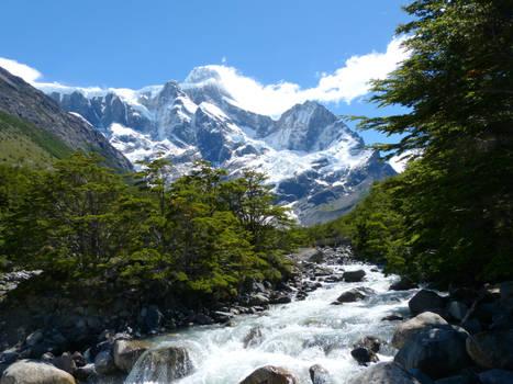 Sendero a Torres del Paine