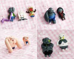Team Zombie Minis by Panfake