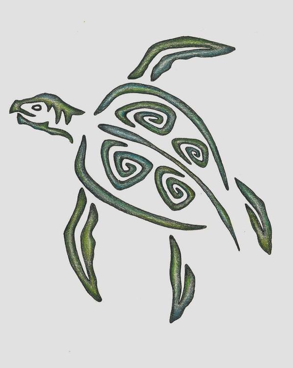 Turtle design - photo#7