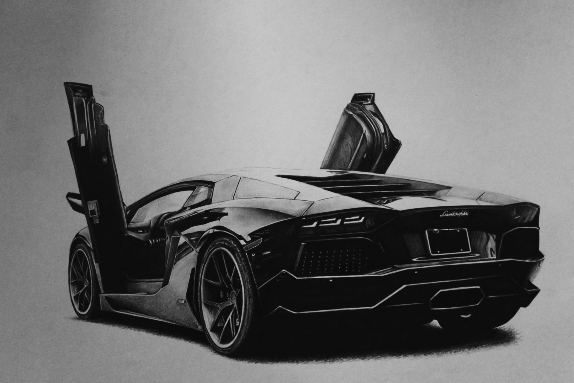lamborghini aventador black and white drawing. lamborghini aventador draw by tolleam black and white drawing