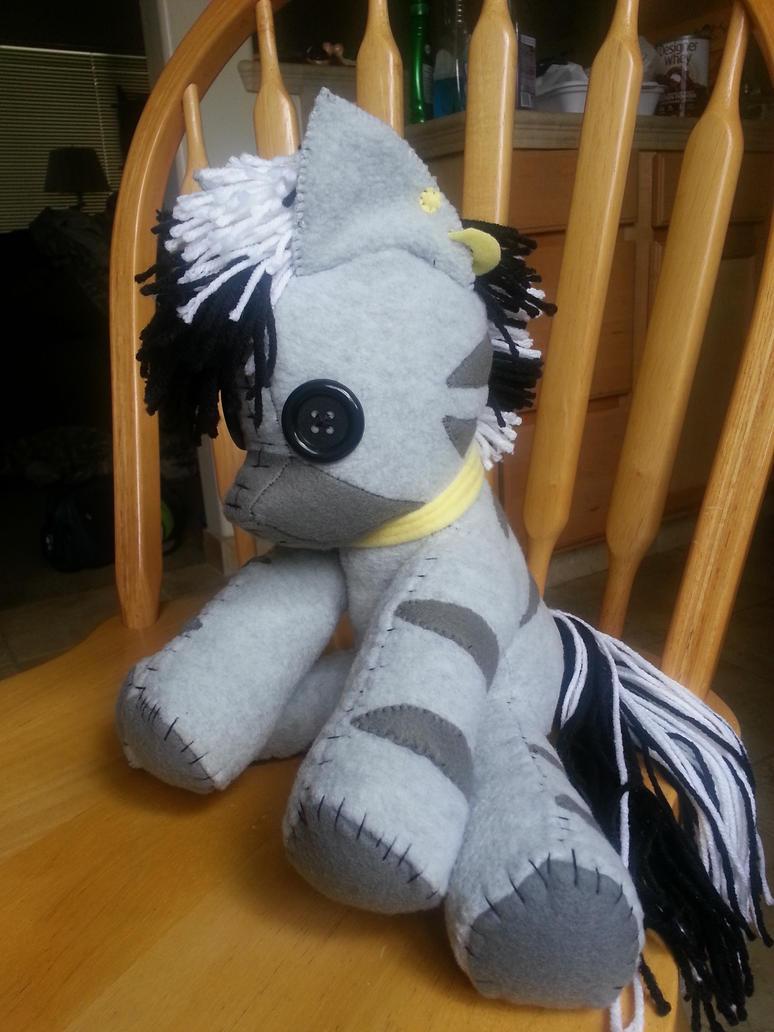 My Little Pony - Zebra Ragdoll by charletothemagne
