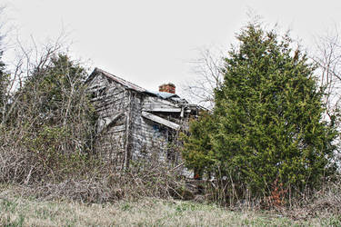 Abandoned House 1 by Crestfalleen
