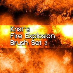 Krist's Explosion Brush Set 2 by Crestfalleen