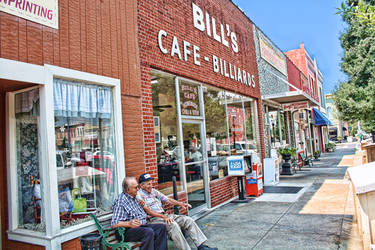 Bill's Cafe by Crestfalleen