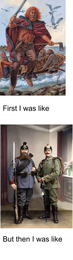 Barbarian to Prussia real quick