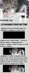 tutoriel gimp signature Kagamine Len NB  1 by Chibi-Zake