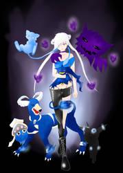 Yuuko pokemon by Chibi-Zake
