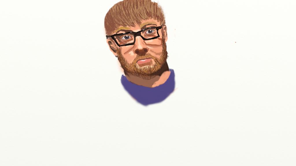 Self Portrait by lachocomoose