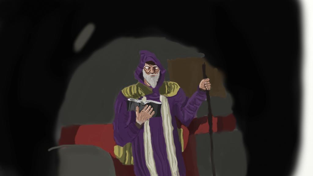 Work in Progress: Wizard by lachocomoose