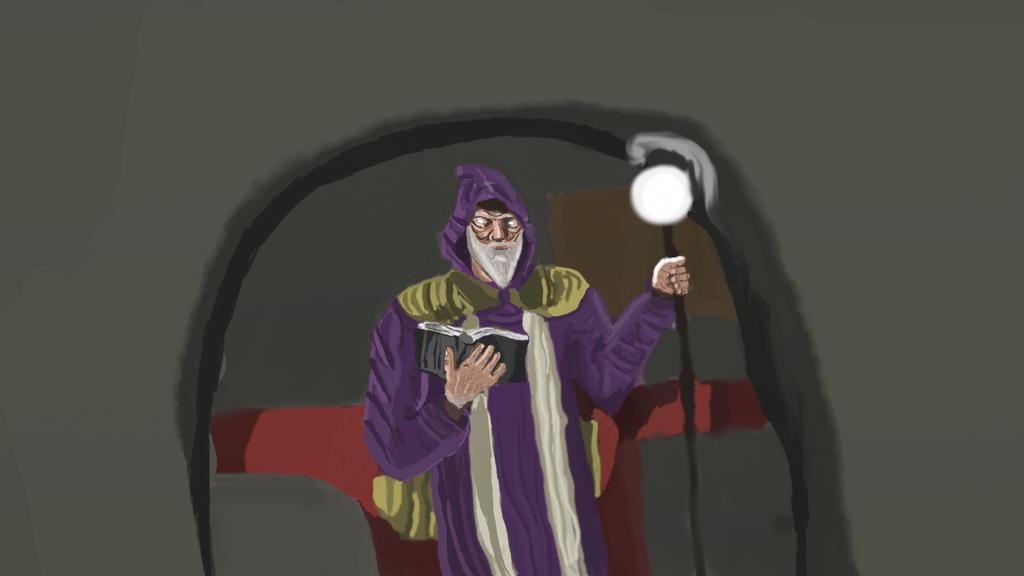 Wizard by lachocomoose