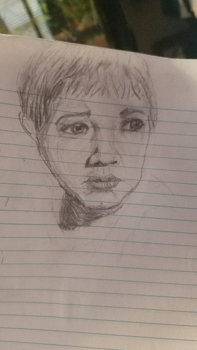 portrait of nephew by lachocomoose