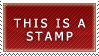 This is a stamp by Oatsprite