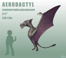 Realistic Pokemon - Aerodactyl