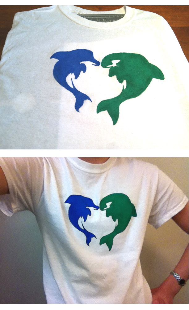 Free! Iwatobi Swim Club MakoHaru Stencil Shirt by CamTheYaoiFan on ...: camtheyaoifan.deviantart.com/art/Free-Iwatobi-Swim-Club-MakoHaru...