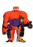 Big Kingdom Hearts Heroes by Deenigma