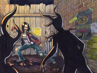 Predators by Pointy-Eared-Fiend