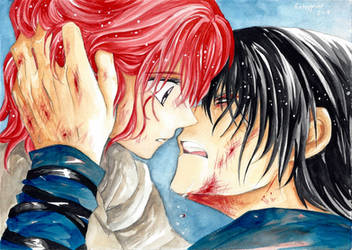 Yona and Hak - Its not enough... by hetappine