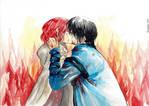 Yona and Hak - Kiss