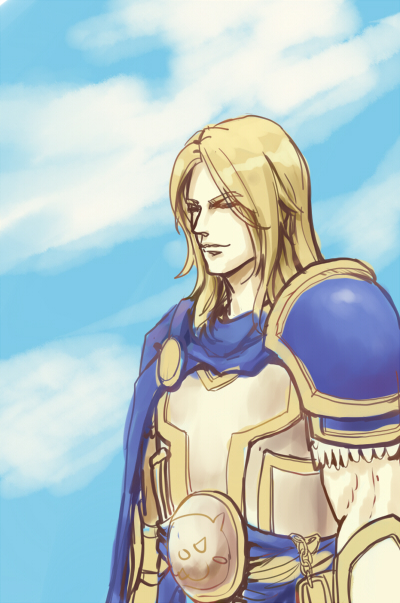 WOW  ARTHAS by firhug