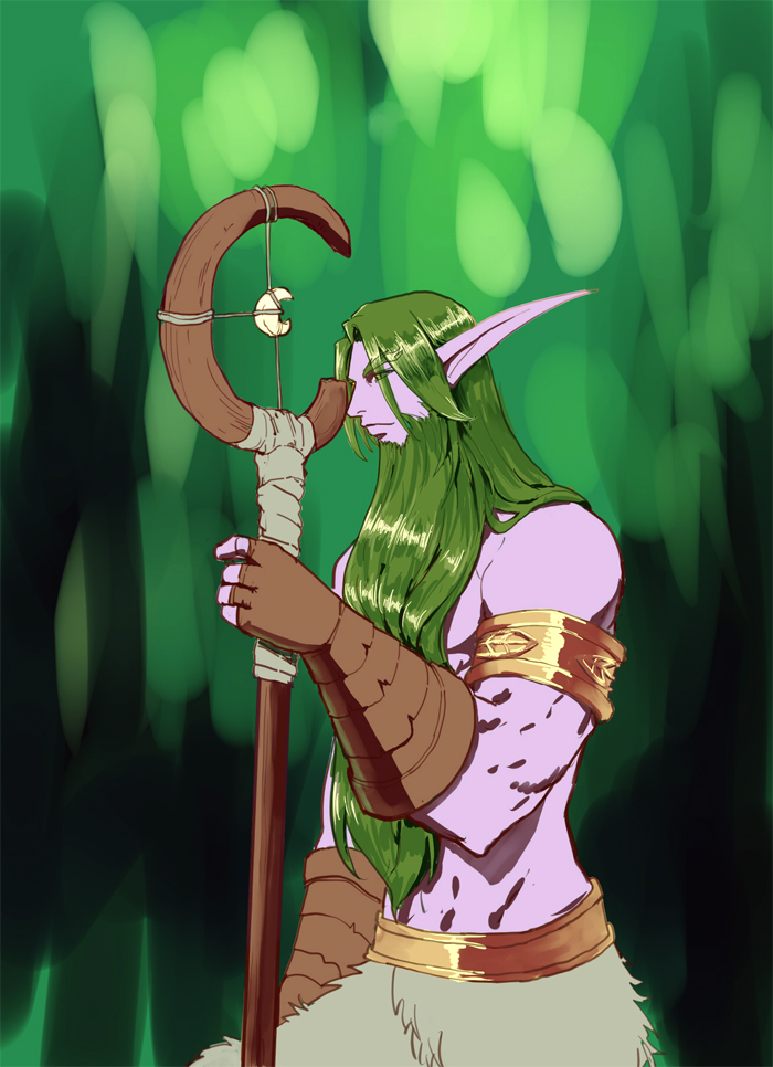 WOW Malfurion by firhug