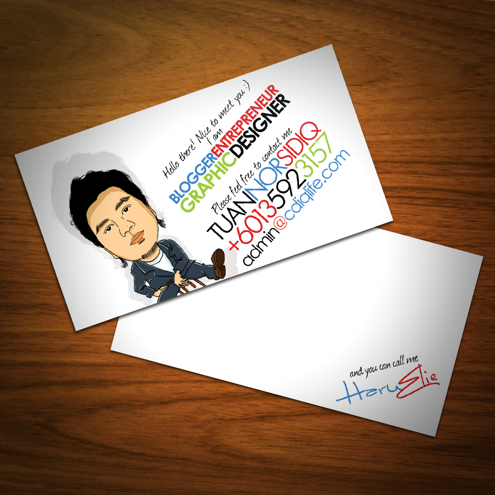 Minimalist Business Card by cdiq3173