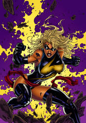 Ms. Marvel by tennesseeg4