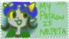 STAMP: Nepeta patron by lucas420