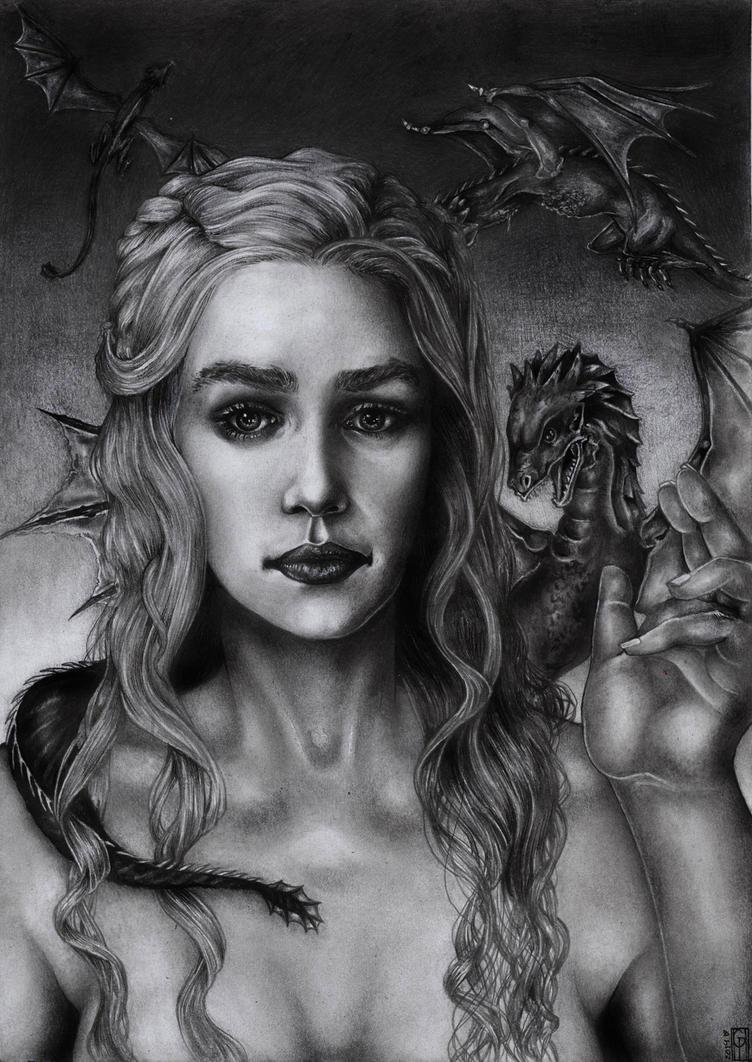 Daenerys Targaryen by Gabriella92