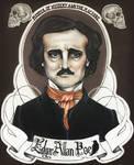 Edgar Allan Poe by Gabriella92