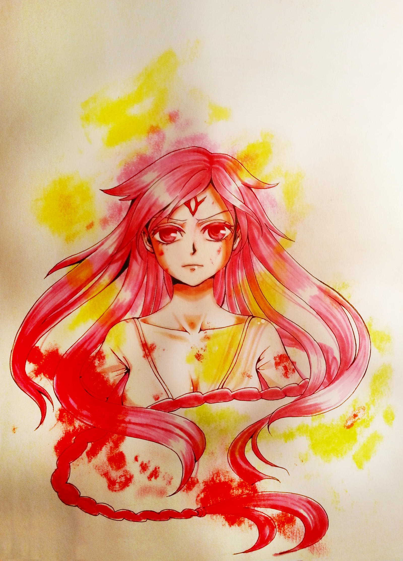[MAGI] Sheba by hacchan-pixiv