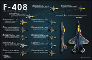 Development of the F-408 Vampire by DawnofVictory2289