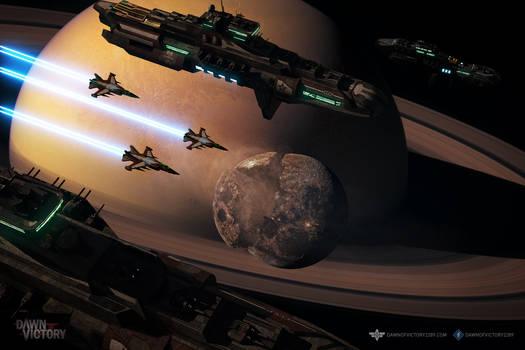 The Red Fleet on Patrol
