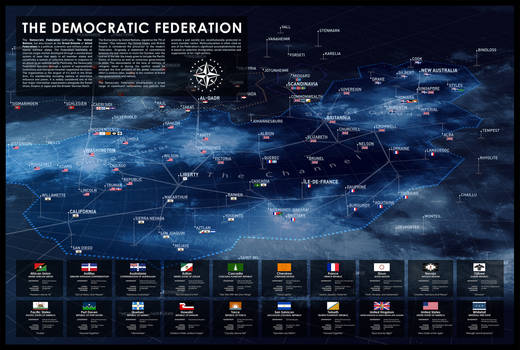 Star Systems of the Democratic Federation