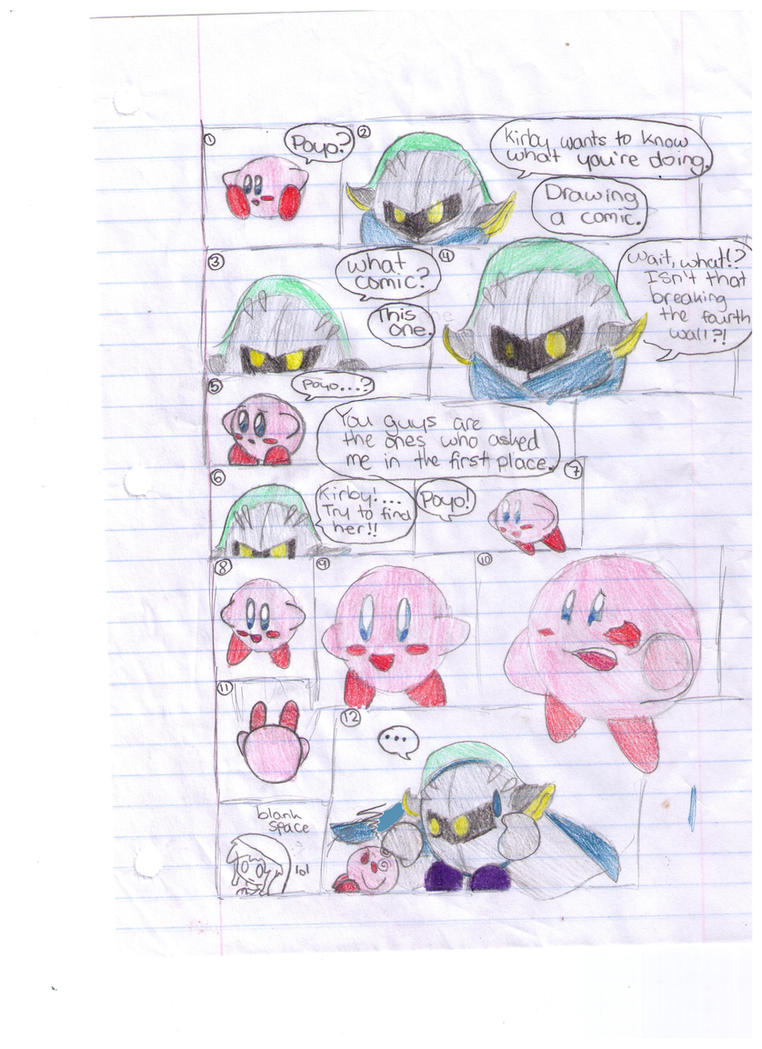 Meta Knight And Kirby Comics Kirby and the Fourth W...