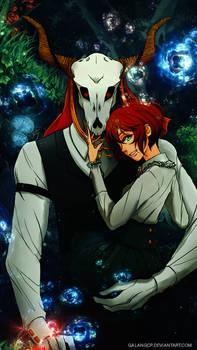 Mahoutsukai no Yome Chise Hatori x Elias Ainsworth