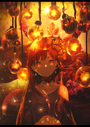 Lampion Girl by galangcp