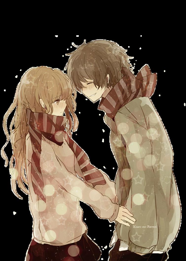 Anime Boy And Girl By Lckiwi