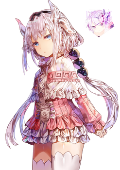 [Miss Kobayashi's Dragon Maid] Kanna Kamui Render