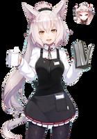 [Non-anime] Anime Girl Render by LCkiWi