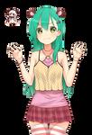 [KanColle] Suzuya Heavy Cruiser Render