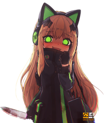 [Girls Frontline] TMP Render by LCkiWi