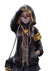 [Girls Frontline] UMP45 Render by LCkiWi