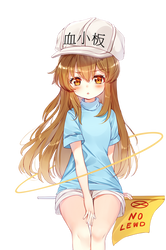 [Cells At Work] Platelet Render by LCkiWi