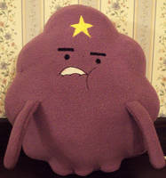 COM : Lumpy Space Princess plush by Ruaniamh