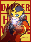 DANGER! DANGER! HIGH VOLTAGE!